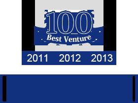 3年連続Best Venture 100社に選出