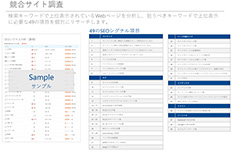 競合サイト調査
